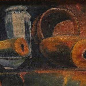 1. Trương Thị Thịnh, tĩnh vật, sơn dầu, 25x33cm