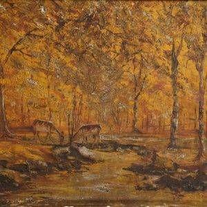 1.Duy Thanh, Bình yên, sơn dầu 65×80