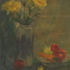 1.Ngọc Dũng, tĩnh vật, sơn dầu, 40×50