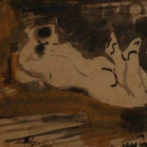 Tác phẩm Nude của họa sĩ Bàn Sĩ Nguyên