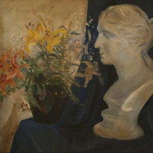 2.Kim Mỵ Yên, tĩnh vật, sơn dầu, 43×45, 1967