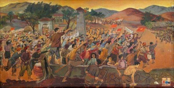 Xô viết Nghệ Tĩnh của họa sĩ Nguyễn Đức Nùng
