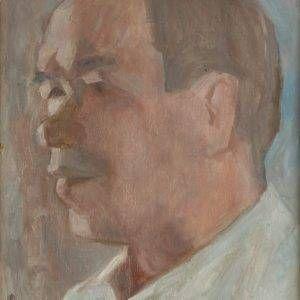 3.Bùi Quang Ngọc, chân dung Trương Văn Thuận, sơn dầu, 50x40cm, 2012