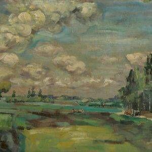 3.Duy Thanh, phong cảnh, sơn dầu 47×67