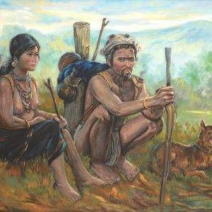 Lâm Kim, du mục, sơn dầu, 100x140cm, 1981