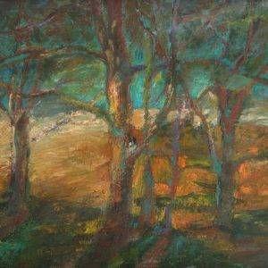 9.Duy Thanh, phong cảnh, sơn dầu, 60×80