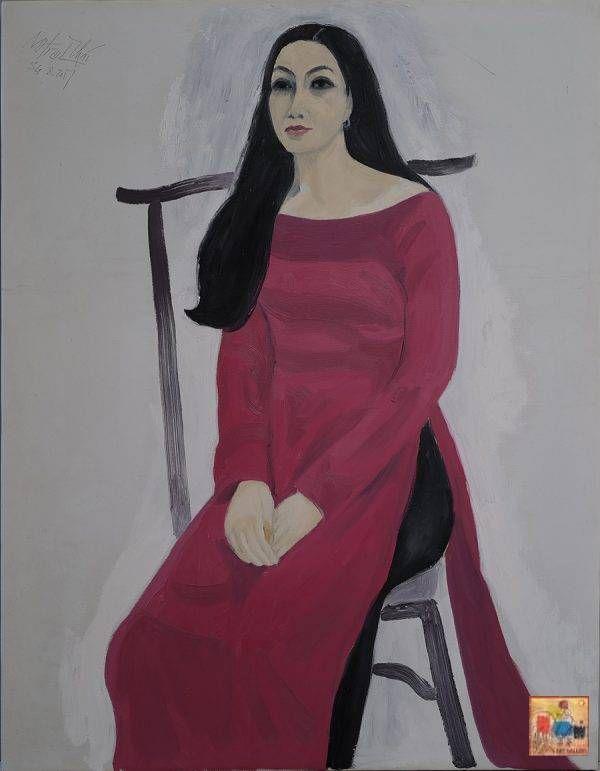 Tác phẩm Chân dung của họa sĩ Nguyễn Trịnh Thái