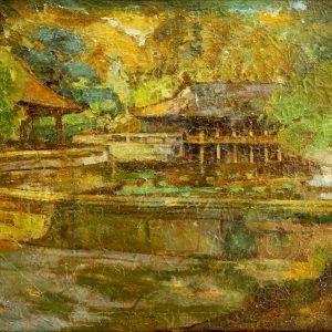 1.Đỗ Đình Hiệp, phong cảnh Huế, sơn dầu, 60×80