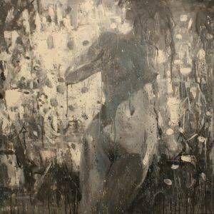 Bùi Văn Tuất, nude, sơn dầu, 92x120cm, 2016