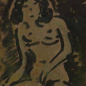 108.Bàng Sĩ Nguyên, nude, tổng hợp, 31×22