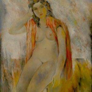 11.Trần Tuy, khỏa thân, sơn dầu, 50x40cm, 1987