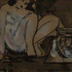 113.Bàng Sĩ Nguyên, nude, tổng hợp, 17×21