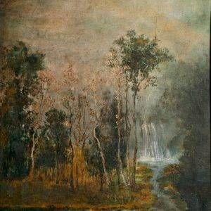 7.Nguyễn Trí Minh, phong cảnh 3, sơn dầu, 50×60, 1963