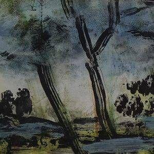 1.Bàng Sĩ Nguyên, Phong cảnh, tổng hợp, 14×22