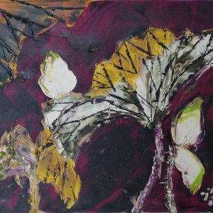 10. Nguyễn Phan Hòa, sen, sơn dầu, 30×40 cm, 2008