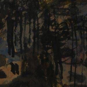 10.Bàng Sĩ Nguyên, Phong cảnh, tổng hợp, 23×17, 1999