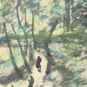 12.Bàng Sĩ Nguyên, Phong cảnh, tổng hợp, 24×18