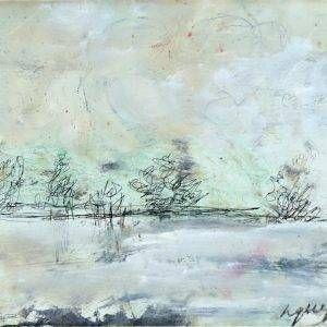 2.Bàng Sĩ Nguyên, Phong cảnh, tổng hợp, 17×23