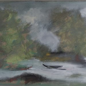 38. Bàng Sĩ Nguyên, Phong cảnh, sơn dầu, 33×48, 1996
