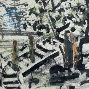 7.Bàng Sĩ Nguyên, Phong cảnh, tổng hợp, 21×26