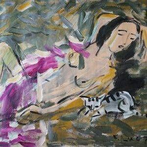 12.Phạm Lực, sơn dầu, 70×90 cm,1974