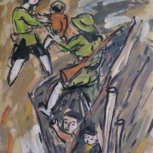 18.Phạm Lực, Sum hợp, sơn dầu, 79×66 cm, 1972