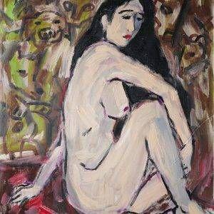 26.Phạm Lực, sơn dầu, 97×77 cm, 1982
